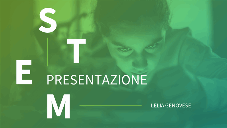Presentazione STEM
