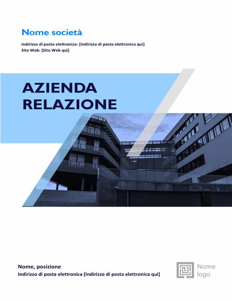Report aziendale (progettazione grafica)