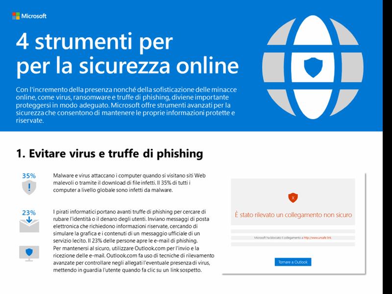 Quattro strumenti per la sicurezza online