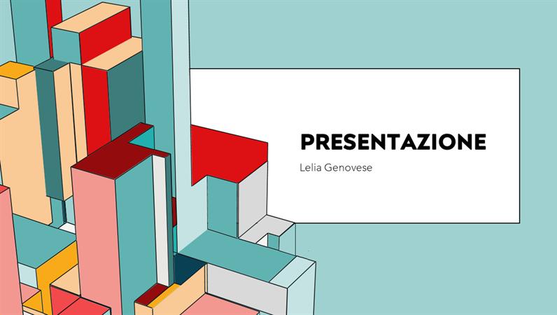 Presentazione di architettura