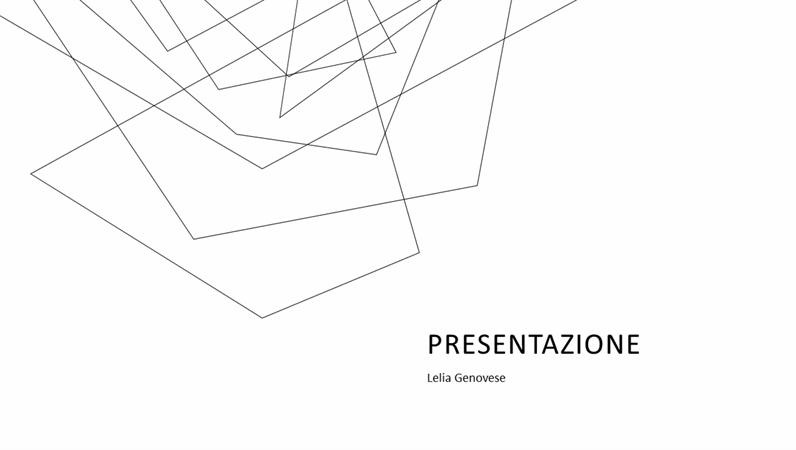 Presentazione di vendita minimalista