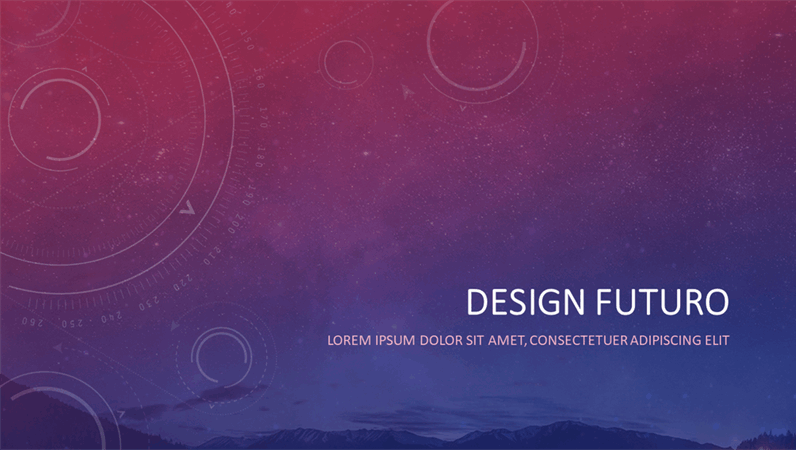 Design futuristico
