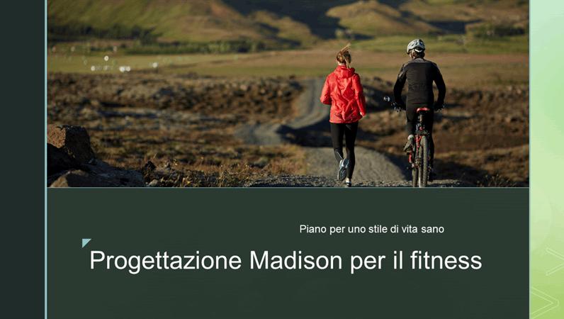Progettazione Madison per il fitness