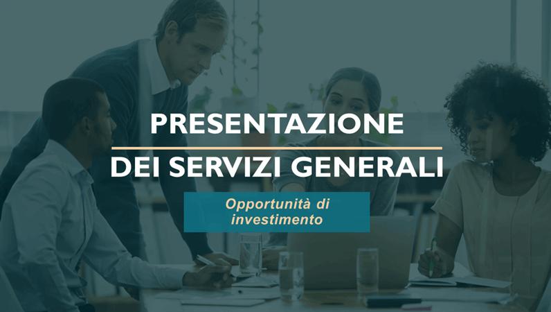 Presentazione servizi professionali