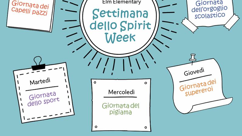 Calendario della Spirit Week