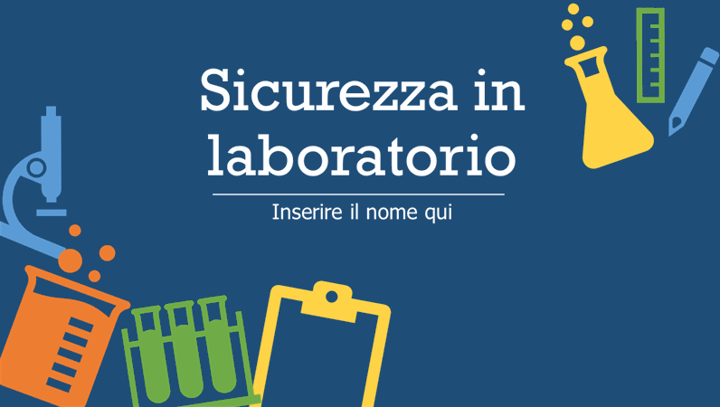 Sicurezza in laboratorio