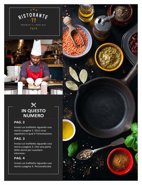 Newsletter ristorante