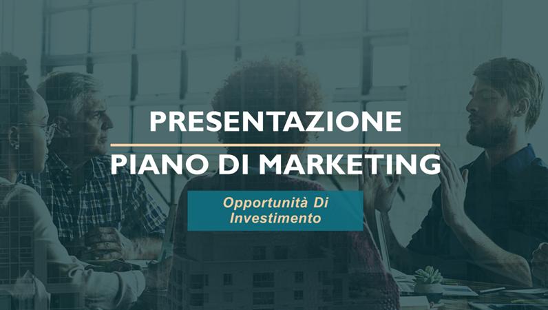 Piano di marketing servizi professionali