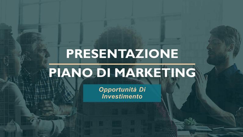 Pianificazione servizi professionali di marketing
