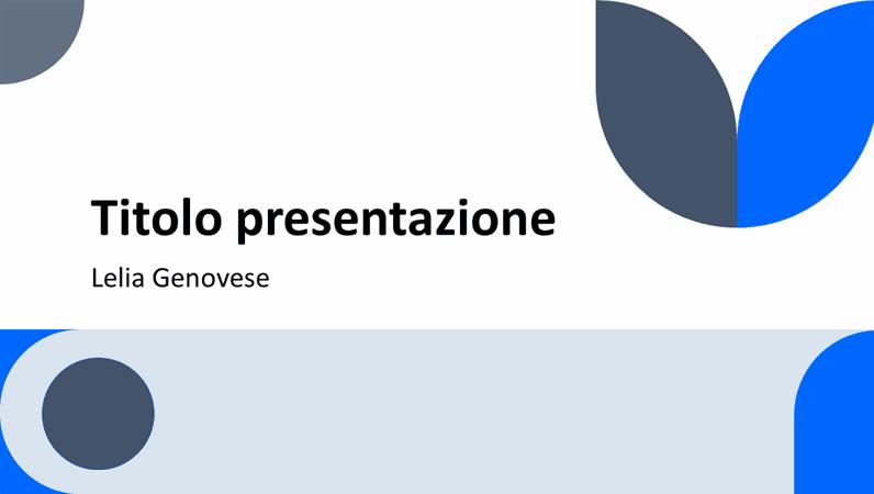 Presentazione universale