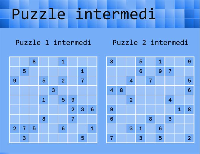 Gioco di Sudoku