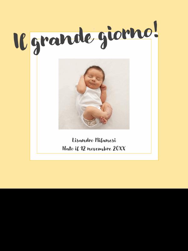 Album fotografico dei traguardi di un bebè