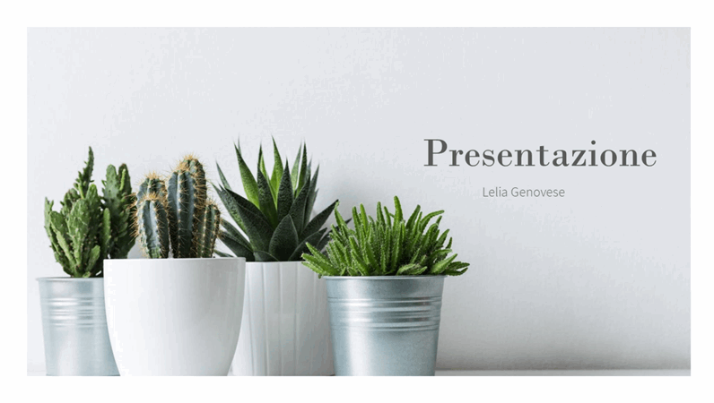 Presentazione di vendita semplice