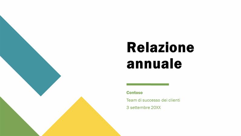 Presentazione annuale geometrica