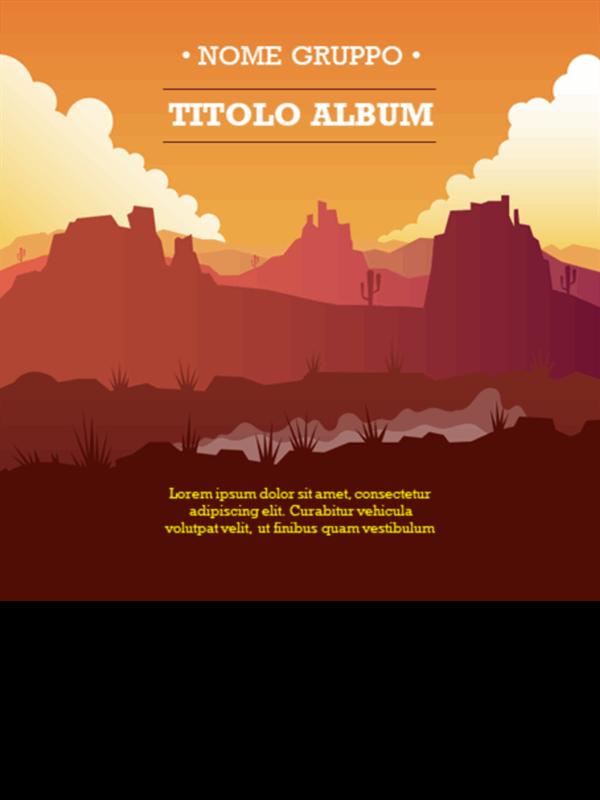 Copertine di album country