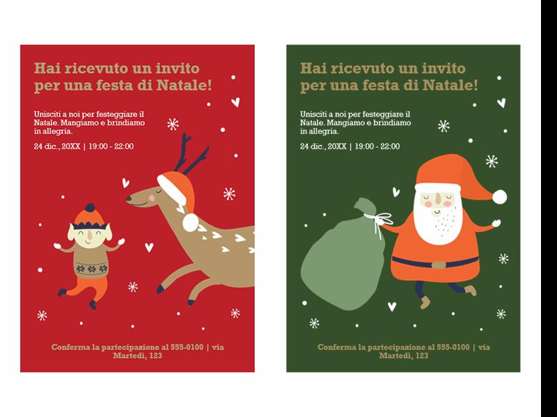 Inviti di Natale