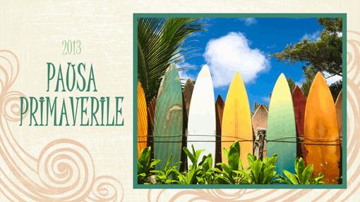 Album fotografico delle vacanze (immagini di spiaggia, widescreen)