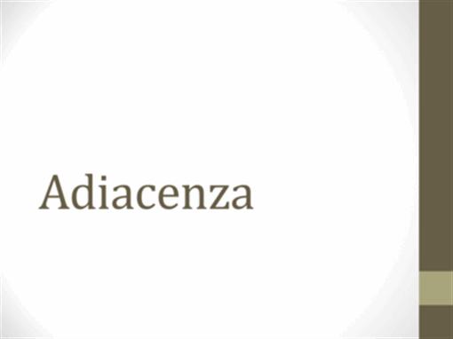 Adiacenza