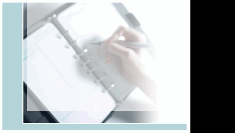 デザイン テンプレート (システム手帳)