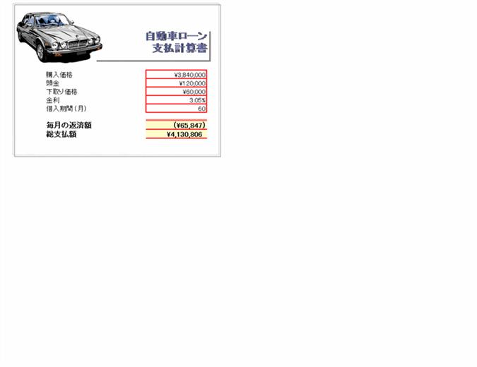 車 ローン 計算