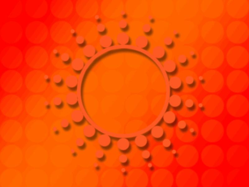 太陽のデザイン テンプレート