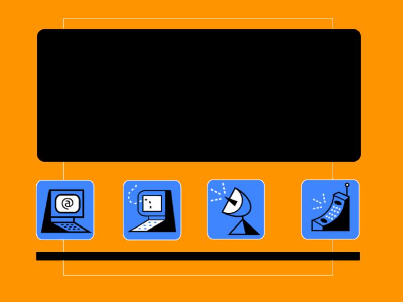 コミュニケーションのデザイン テンプレート