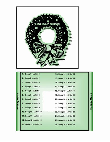 クリスマス ミュージック CD ケース