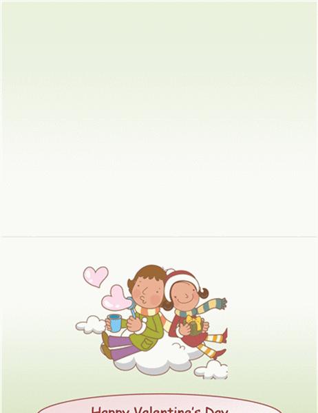 バレンタイン カード (はがきサイズ 2)