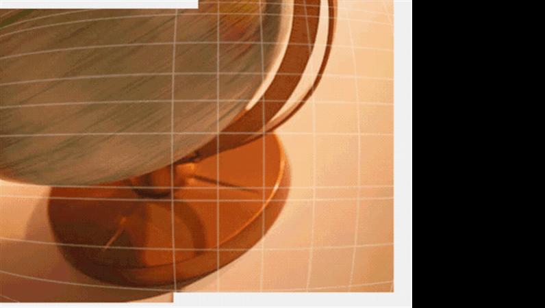 회전하는 지구본 디자인 서식 파일