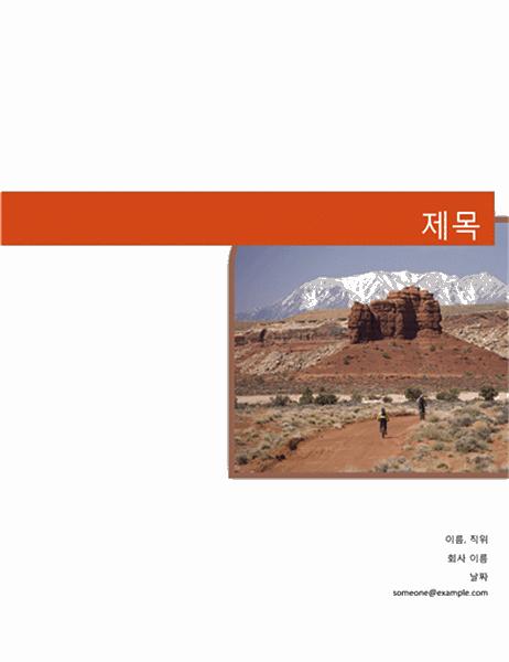 비즈니스 보고서(그래픽 디자인)