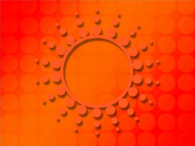 태양 흑점 디자인 서식 파일