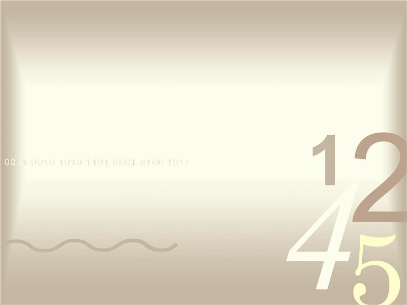 숫자 디자인 서식 파일