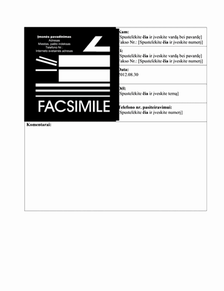 Dalykinė faksograma