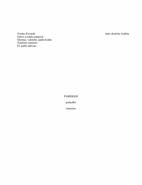 Knygos rankraštis