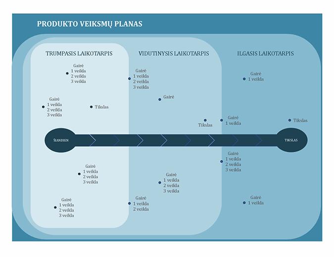 Veiksmų planas su gairėmis
