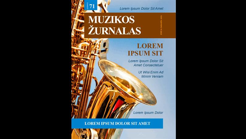 Muzikinių žurnalų viršeliai