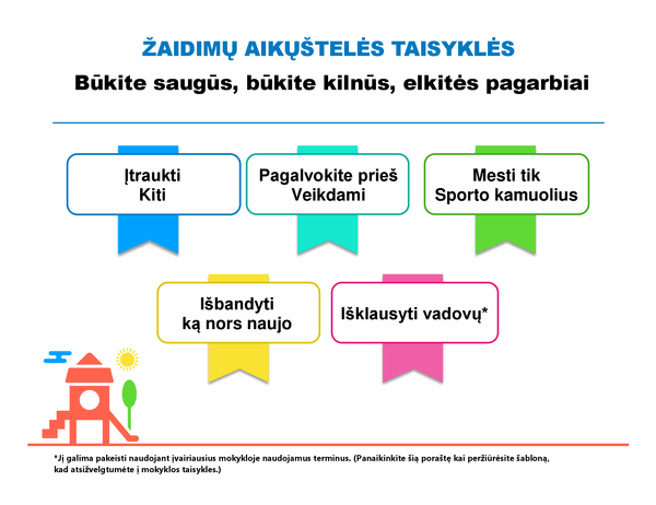 Žaidimų aikštelės taisyklės