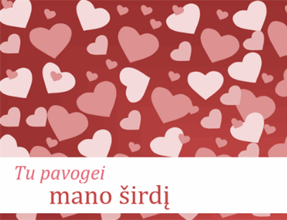 Valentino dienos atvirukai