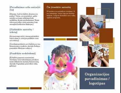 Brošiūra apie švietimą