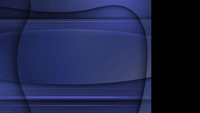 Veidne ar zilas želejas noformējumu