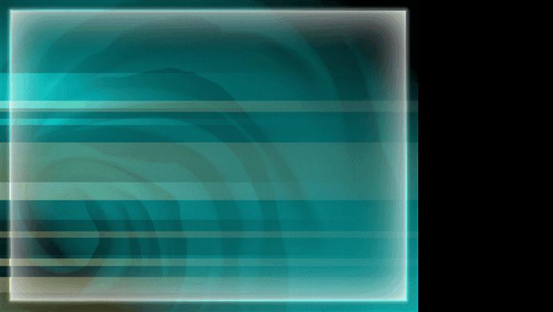 Veidne ar zilganzaļu alas noformējumu