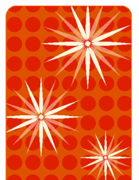 Svētku dāvanu kartiņas (noformējums ar modernizētu sniegpārsliņu, der papīram Avery 5871, 8871, 8873, 8876 un 8879)