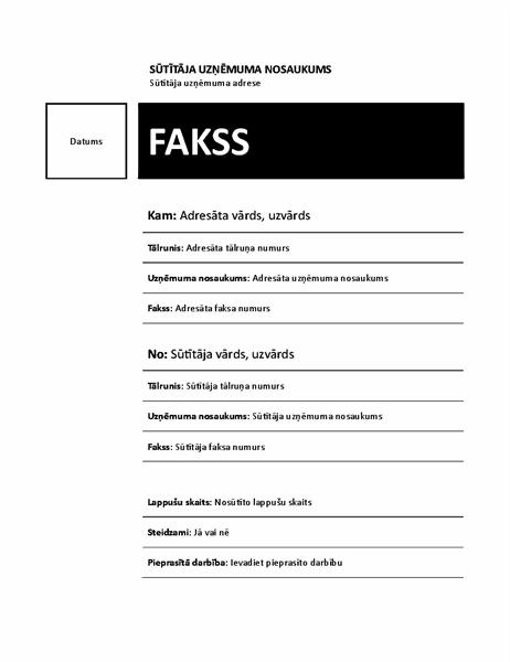 Fakss (mediānas dizains)