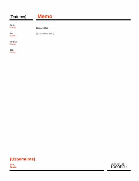 Biznesa atgādne (sarkana)