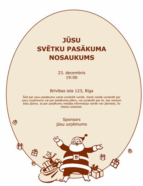 Ziemassvētku skrejlapa