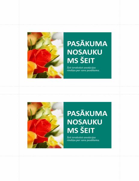 Reklāmas pastkartes (2 lapā)