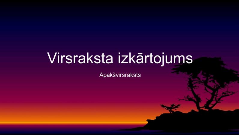 Salas noformēšanas slaidi