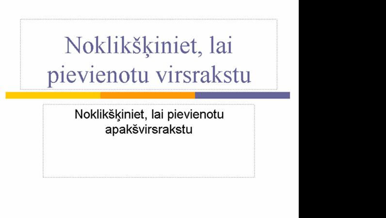 Prezentācija (horizontāls dizains)