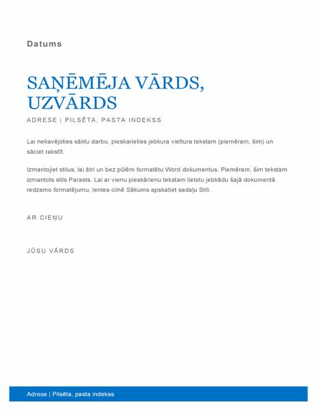 Biznesa vēstule