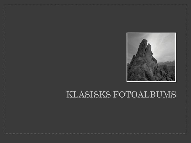 Klasisks fotoalbums